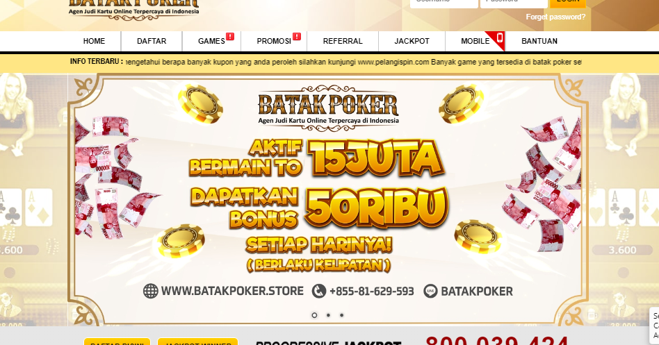 Batakpoker - Poker Online - Domino QQ - Situs Poker Online