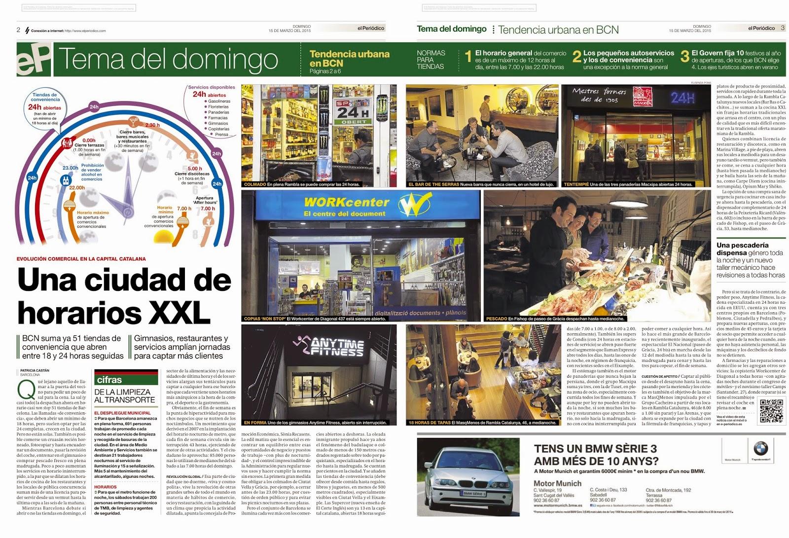 La Buena Prensa Horarios Xxl