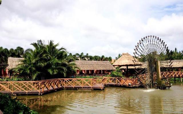 Khu du lịch sinh thái Tháp Ngà - Bình Xuyên (Nhà Bè)