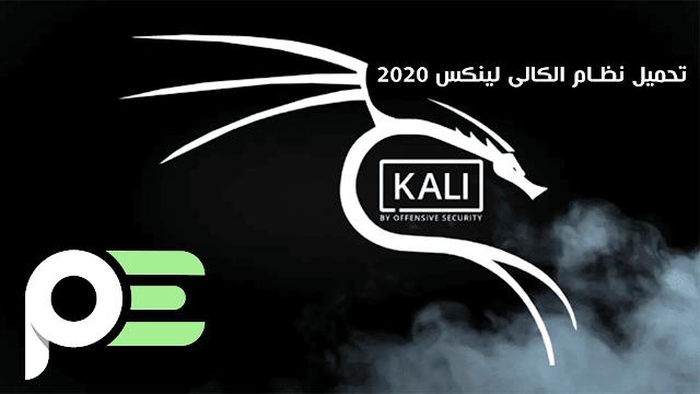 تحميل نظام الكالى لينكس اخر اصدار 2020 برابط مباشر من الموقع الرسمى