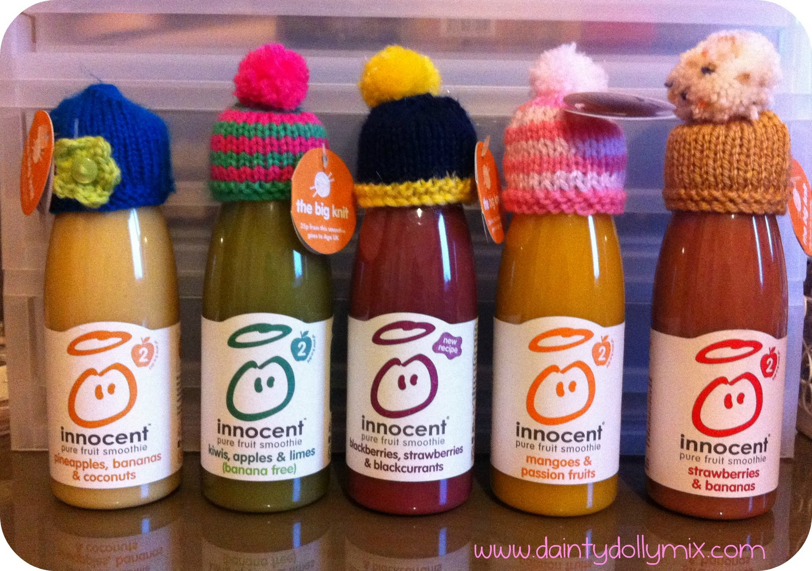 aa66ed06e Dainty Dollymix UK Beauty Blog: Innocent Smoothies & The Big Knit