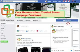 Cara Memunculkan Tombol Pesan Fanspage Facebook