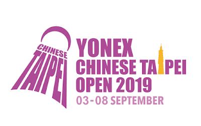 Live Skor Yonex Chinese Taipei Open 2019