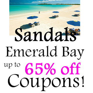 Sandals Emerald Bay Bahamas Coupon February, March, April, May, June 2021