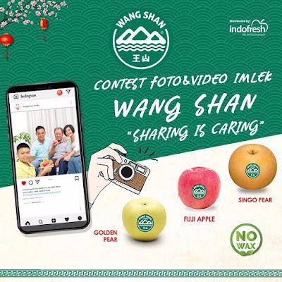 Kontes Foto/Video Imlek Wang Shan Berhadiah 500 Ribu