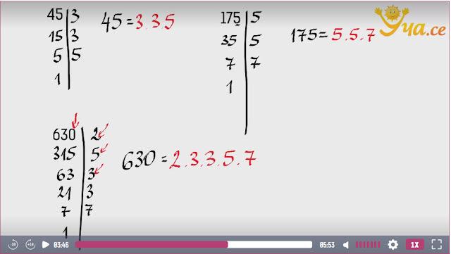 Matemáticas de 5º