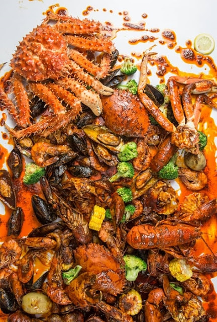 Ombak Kitchen Seafood Bangsar, The Best Halal Seafood Restaurant, Bangsar, Ombak Kitchen, Halal seafood in kuala lumpur, Food Review
