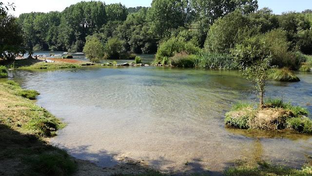 Zona Fluvial para crianças na Praia de Navarra