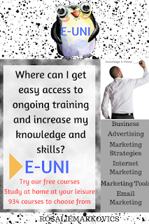 E-Uni-access ongoing training and increase your knowledge and skills