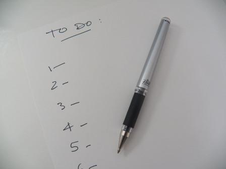 Mencoba Produktif dengan To-Do-List