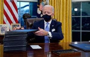 Biden Executive Order stack