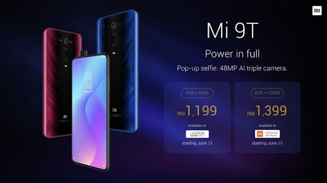 Xiaomi Mi 9T launched in Malaysia, coming to the Philippines on June 24