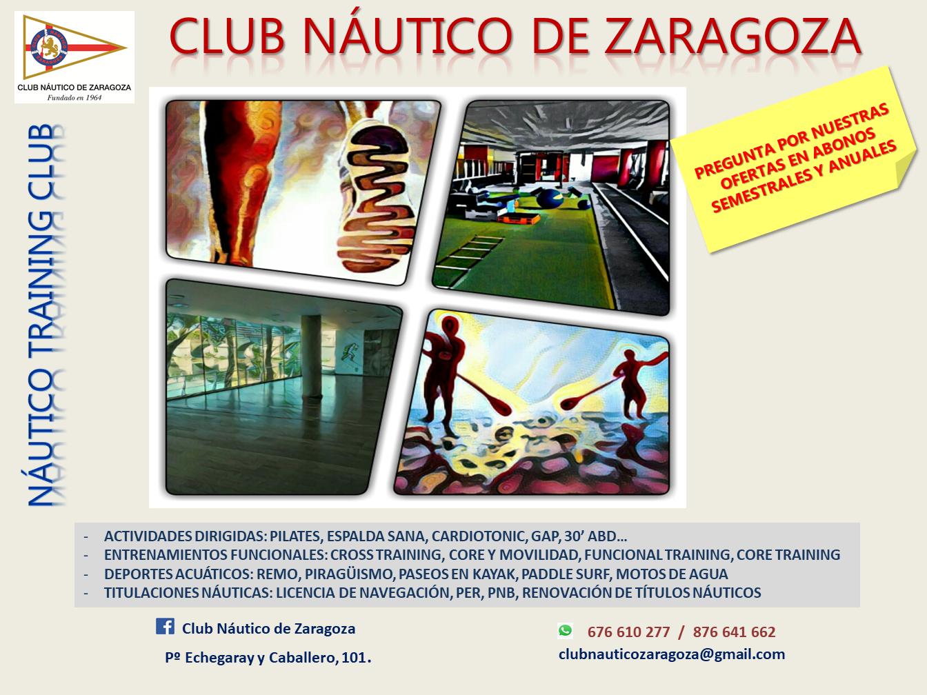 Club n utico zaragoza el gimnasio del club n utico de - Club nautico zaragoza ...