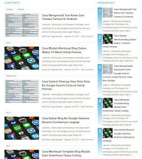 Cara Menghilangkan Nomor Urut Widget Popular Posts Di Template Viomagz