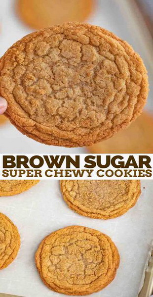 Tremendous Brown Sugar Super Chewy Cookies Recipe Homemade Recipes Onthecornerstone Fun Painted Chair Ideas Images Onthecornerstoneorg
