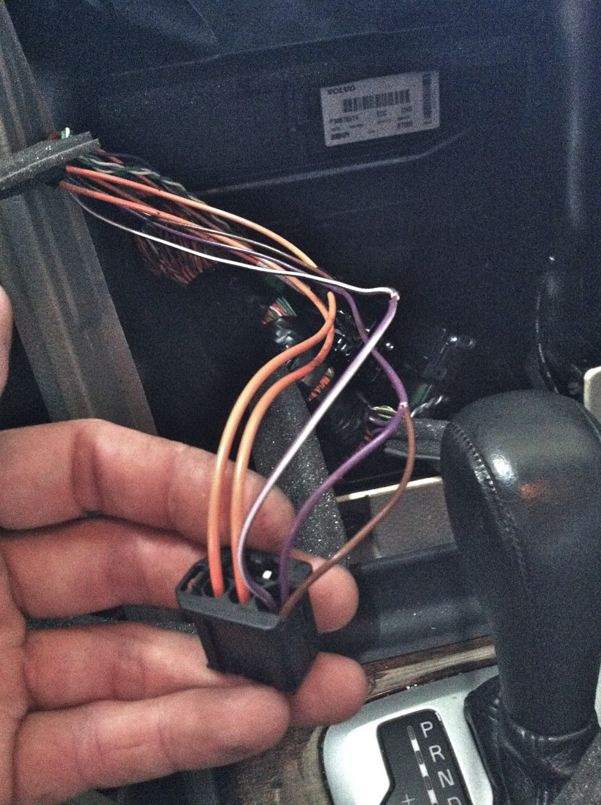aftermarket stereo installation in volvo xc90 power wires [ 1195 x 1600 Pixel ]