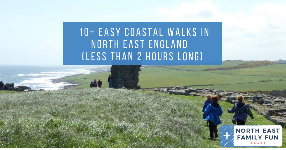 10+ Easy Coastal Walks in North East England  (less than 2 hours long)
