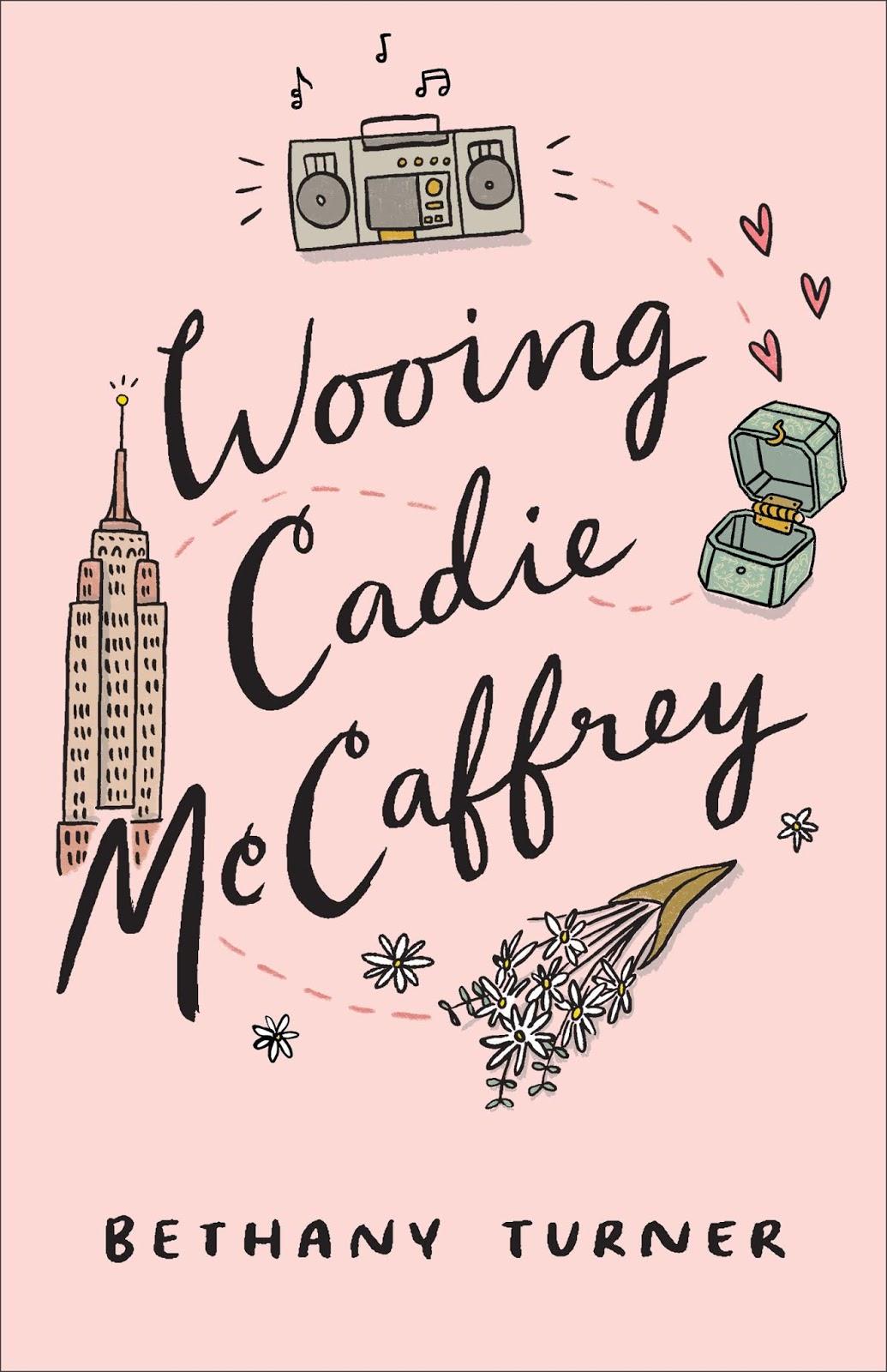 Wooing Cadie McCaffrey book cover
