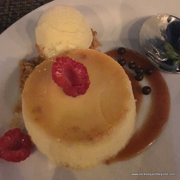 flan at Shooters Waterfront in Fort Lauderdale, Florida