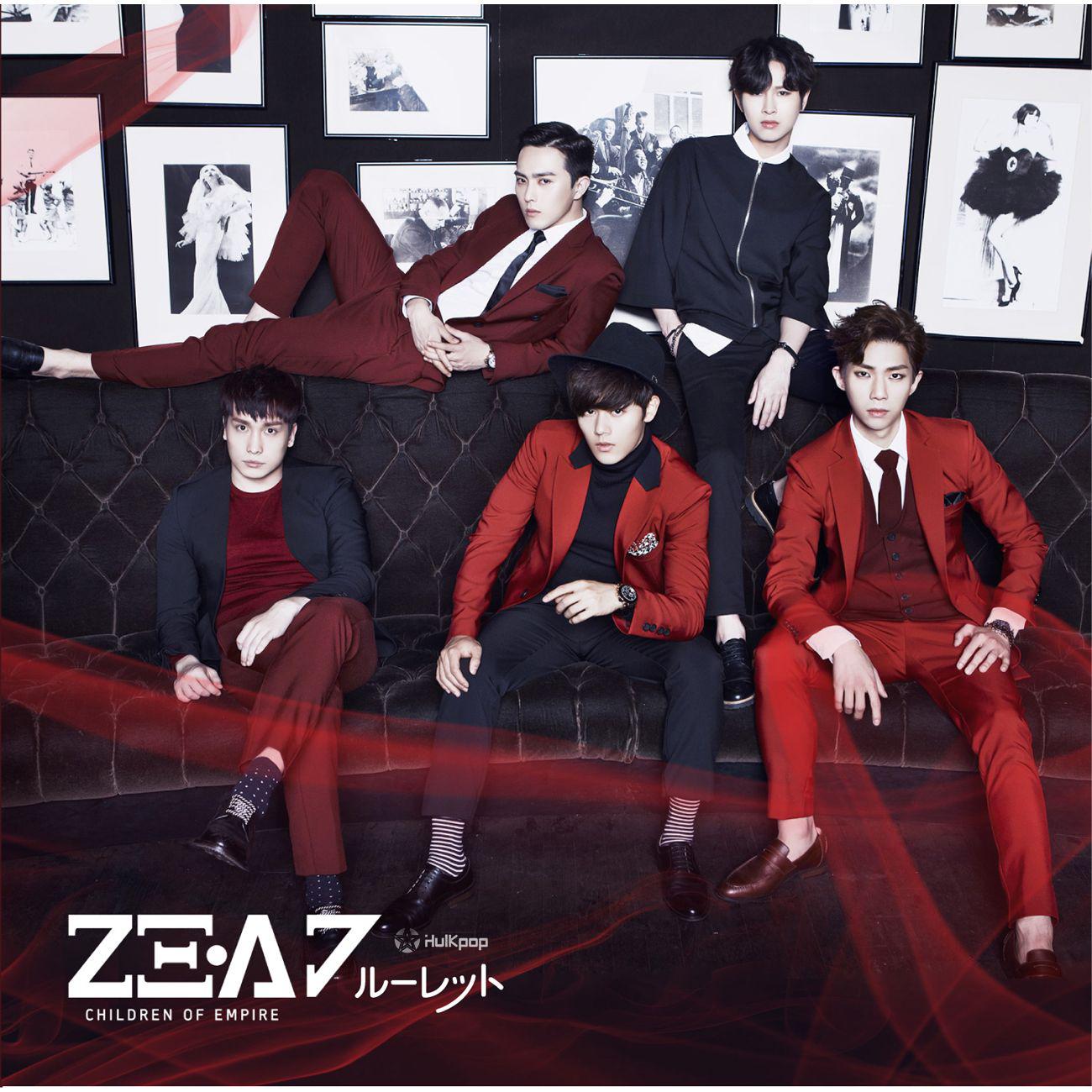 [Single] ZE:A – Roulette (Japanese)