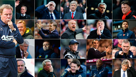"""Premier League chỉ có 6 đội bóng """"thay tướng giữa dòng"""""""
