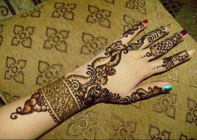 Modernistic Mehndi Designs For Hands