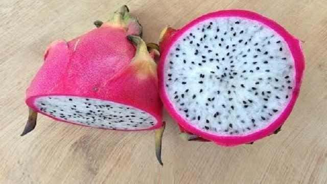 How to Cut a Dragon Fruit - Dragon fruit Nutrition fact Benefits Recipes
