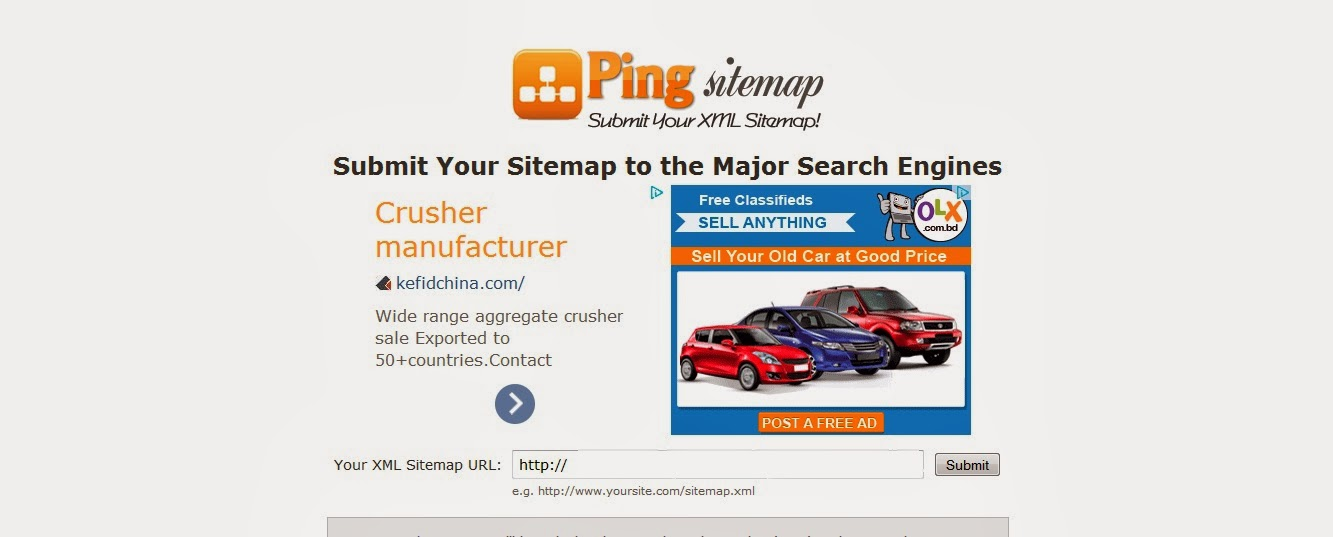 http://www.pingsitemap.com/ টপটেন পিং সার্ভিস সাইট লিংক দেখেনিন এখনই নতুন ব্লগার এবং ওয়েবমাস্টারদের জন্য