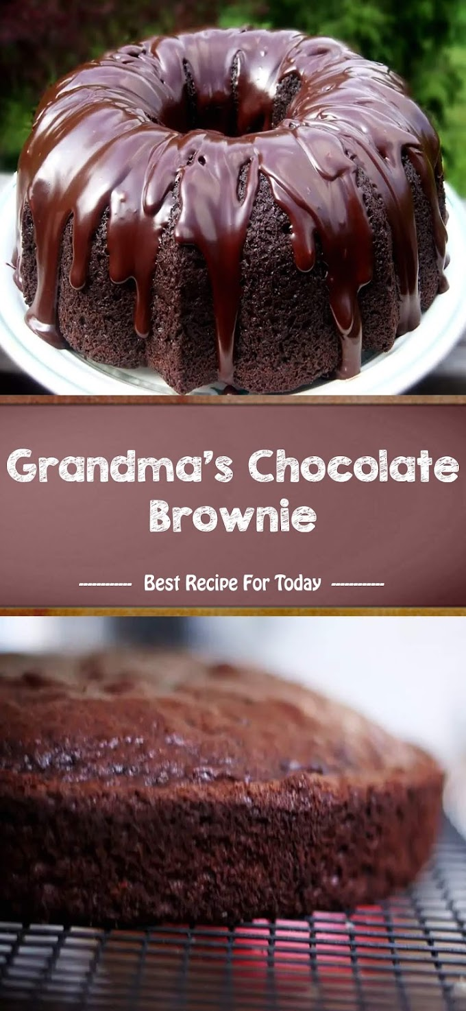 Grandma's Chocolate Brownie - Bestrecipe005