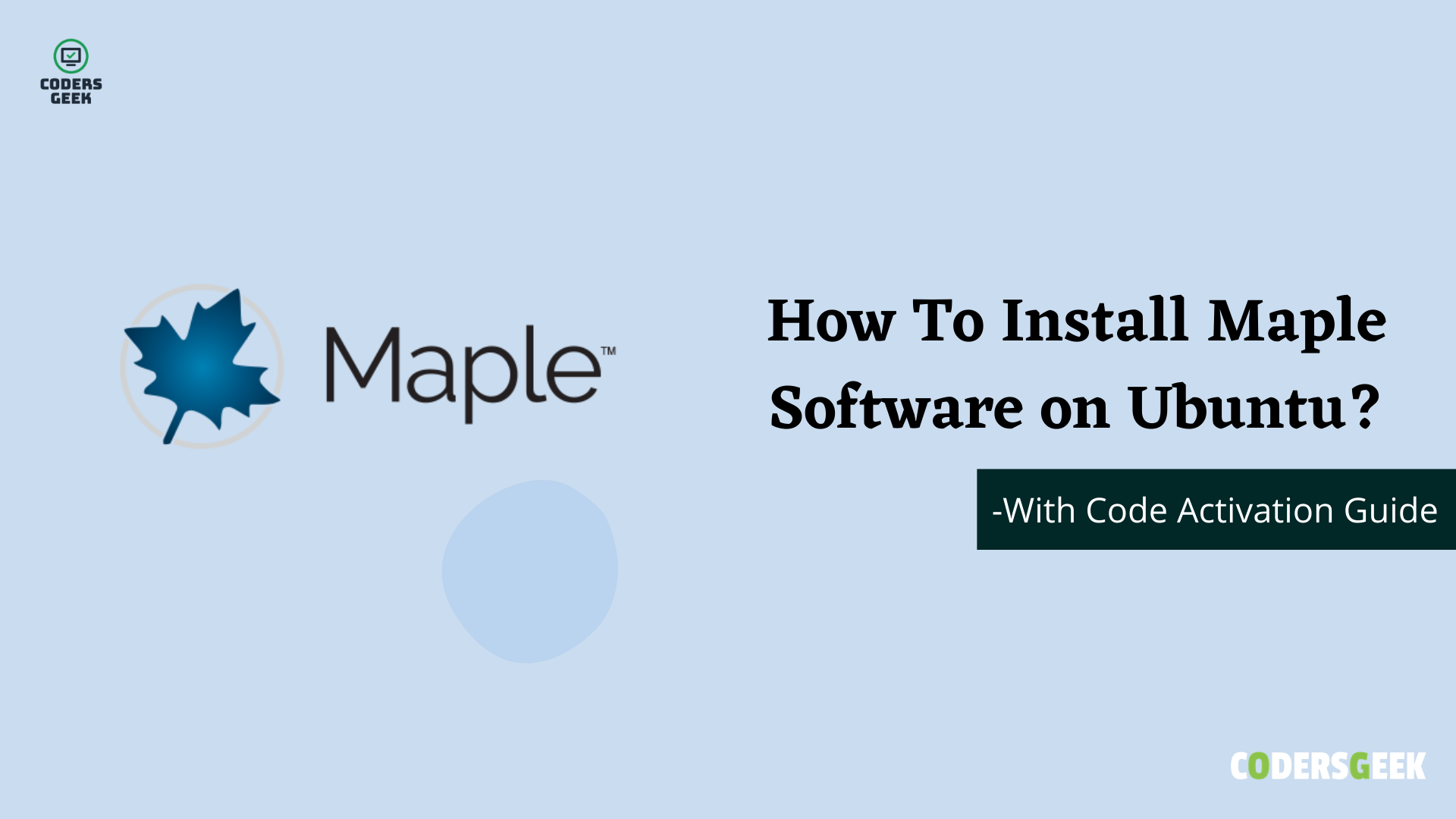 How To Install Maple Software in Ubuntu?