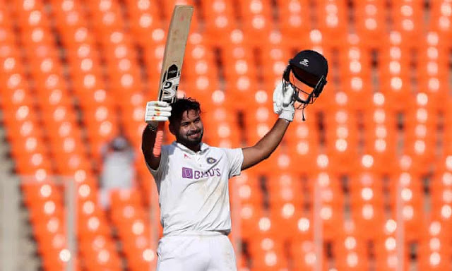 Rishabh Pant's first century on home soil against England