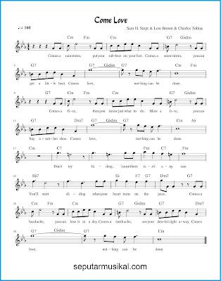 Come Love chords jazz standar