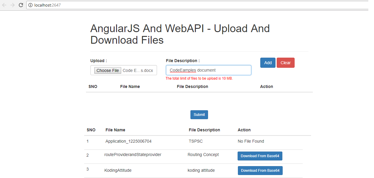 KODING ATTITUDE: Upload and Download Functionality In