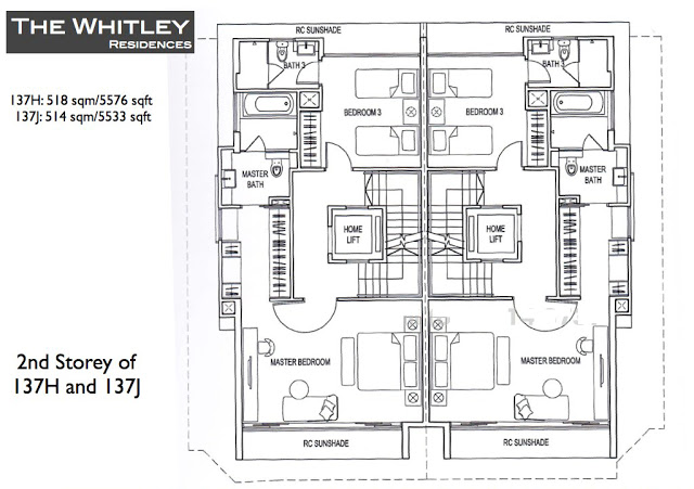 Whitley Residences Floor Plan4