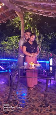 Priti Maurya romantic scene