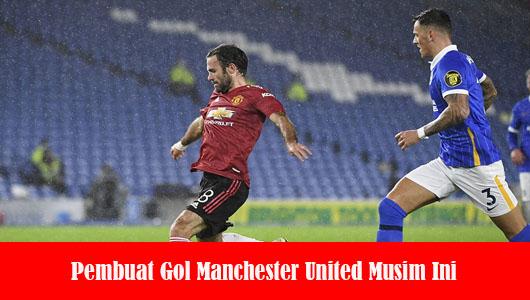 Pembuat Gol Manchester United Musim Ini