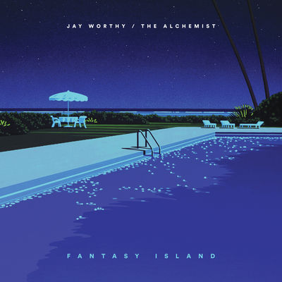 Jay Worthy - Fantasy Island - Album Download, Itunes Cover, Official Cover, Album CD Cover Art, Tracklist
