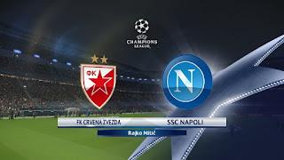 مشاهدة مباراة سرفينا زفيزدا ونابولي بث مباشر بتاريخ 18-09-2018 دوري أبطال أوروبا