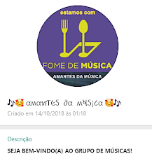 "Participe do Grupo ""Amantes da Música"" no WhatsApp!"