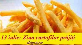 13 iulie: Ziua cartofilor prăjiți