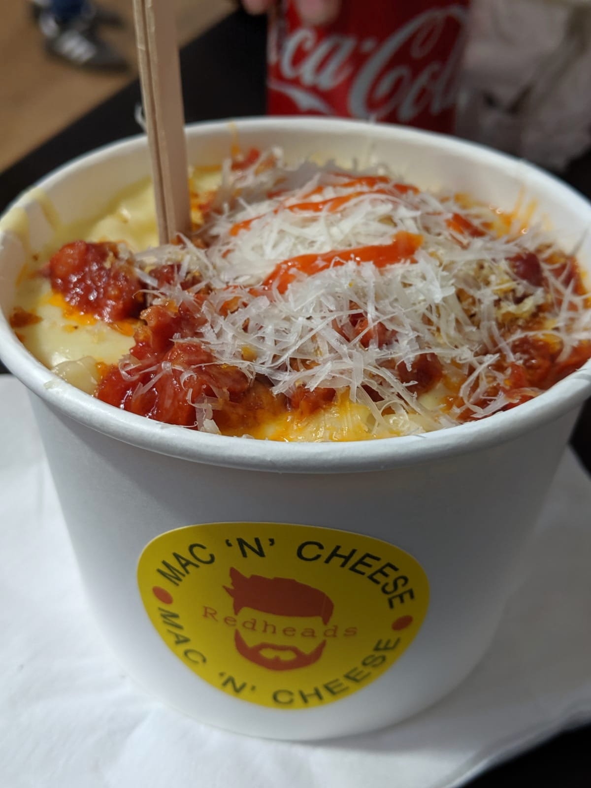 The Perfect Newcastle Christmas Market  - redheads mac n cheeese