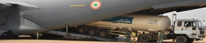 Coronavirus Crisis: Indian Air Force To Airlift 6 Cryogenic Oxygen Containers From Dubai Today