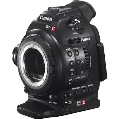 Canon EOS C100 ファームウェアのダウンロード