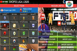 FTS 2020 Update 3 Tim Promosi Liga 1 Indonesia 2020 HD By Asepifan86