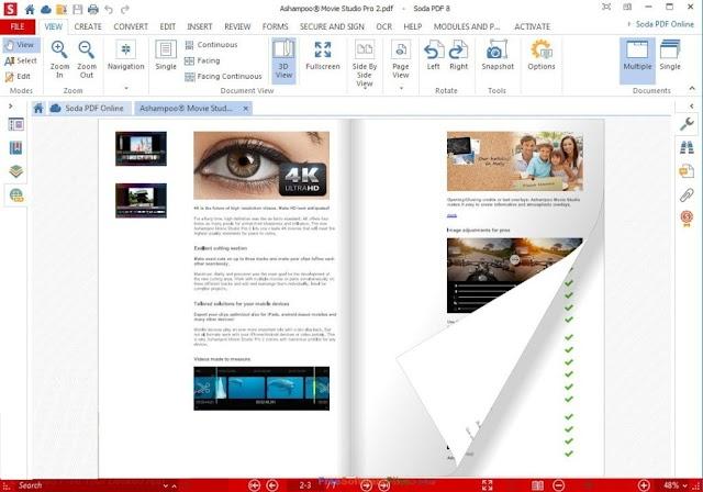 Ashampoo PDF Pro 2.05 - Quản lý chỉnh sửa file PDF