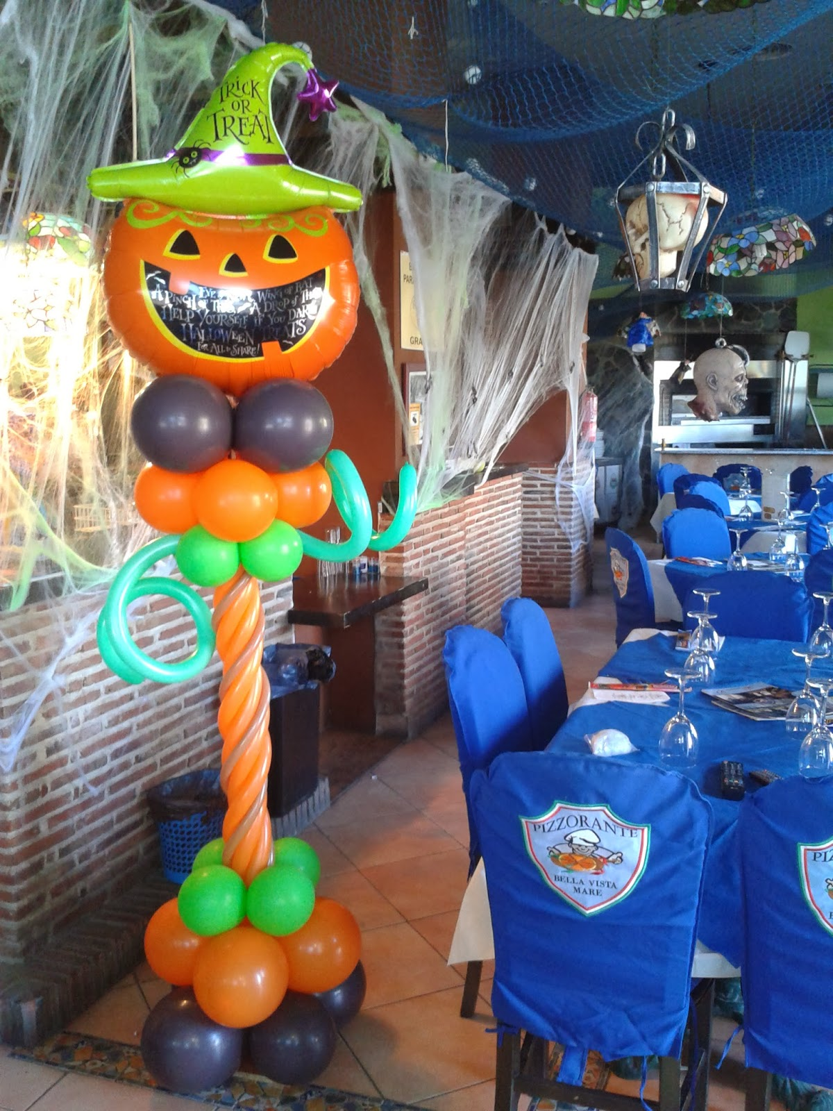 Decorado De Halloween Decoraciones D 39globos Halloween Mare D 39globos