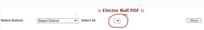 voter list 2021 download