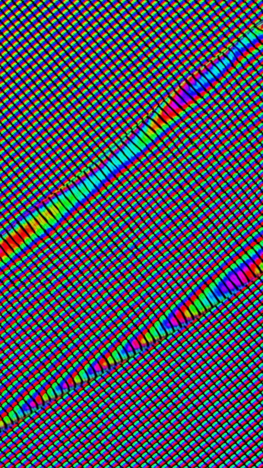 pixel distortion