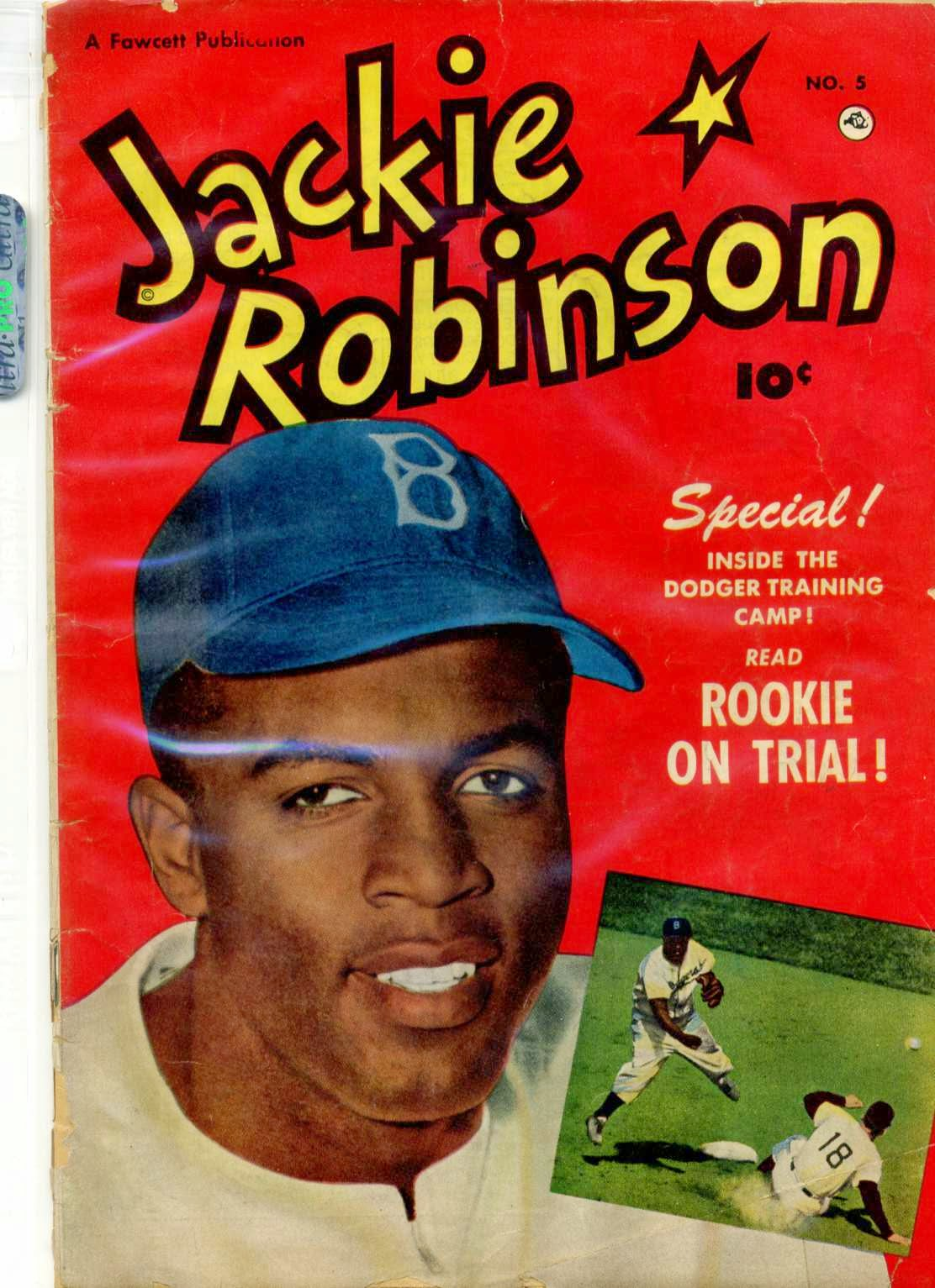 Dodgers Blue Heaven Jackie Robinson Baseball Card
