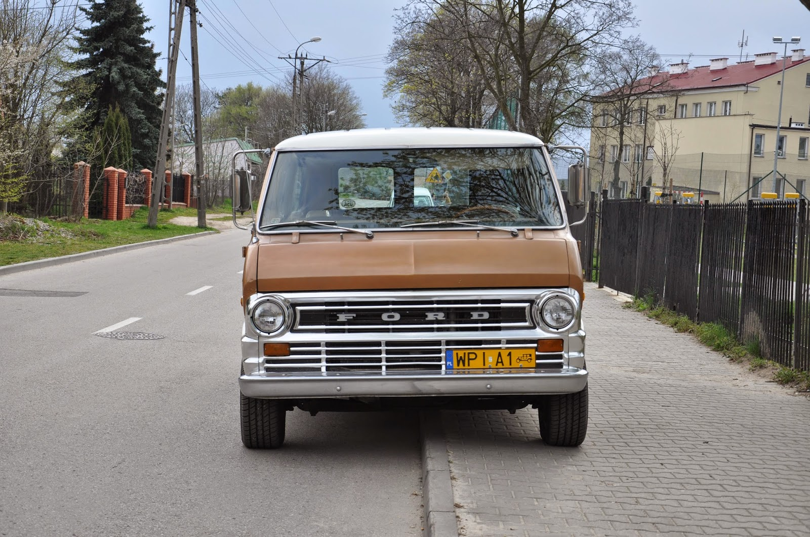 Rebel Rides Behind The Iron Curtain 1972 Ford Chateau